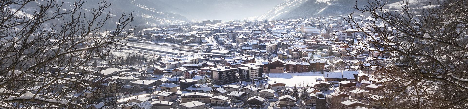Bourg saint maurice station de ski les arcs for Bourg st maurice piscine